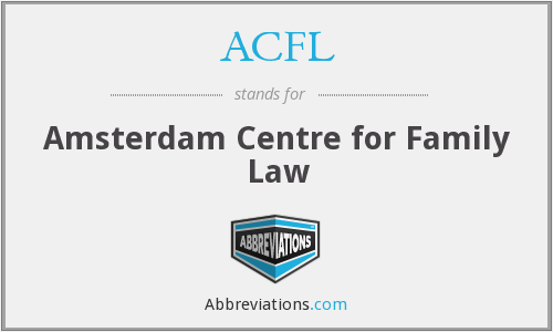 What does ACFL stand for?