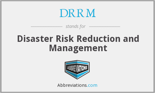 What does DRRM stand for?