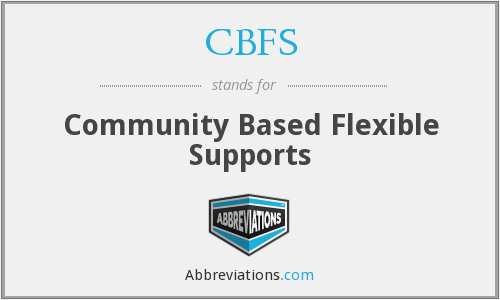 What does CBFS stand for?