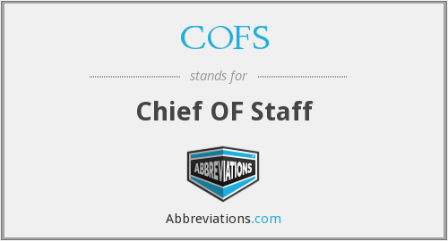 What does COFS stand for?