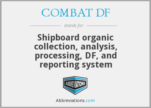 What does COMBAT DF stand for?