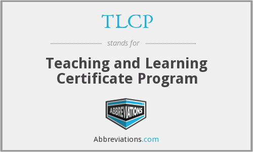 What does TLCP stand for?