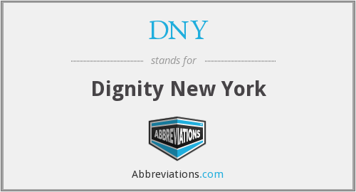 What does DNY stand for?