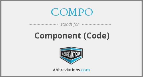 What does COMPO stand for?