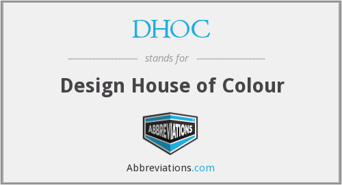 What does DHOC stand for?