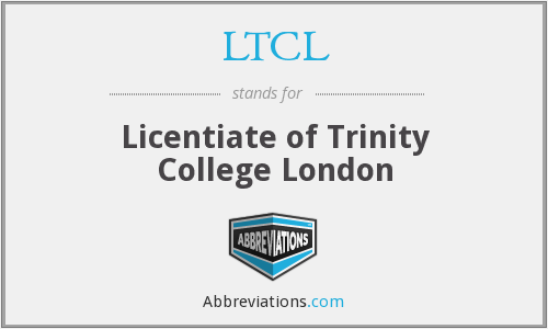 What does LTCL stand for?