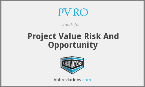 What does PVRO stand for?