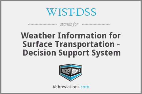 What does WIST-DSS stand for?