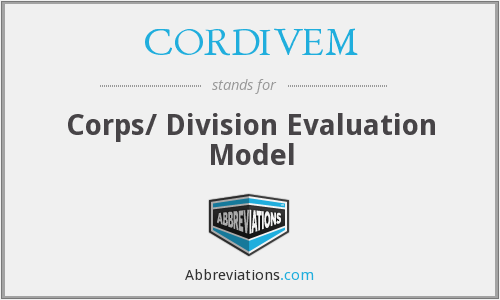 What does CORDIVEM stand for?