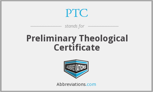 What does PTC stand for?