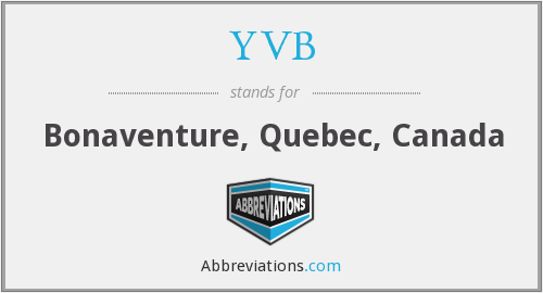 What does YVB stand for?