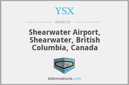 What does YSX stand for?