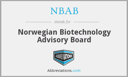 What does NBAB stand for?