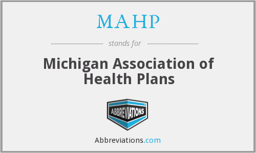 What does MAHP stand for?