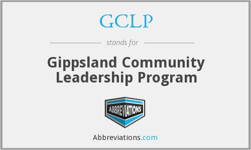 What does GCLP stand for?