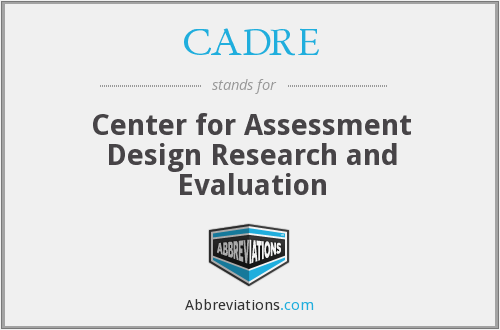 What does CADRE stand for?