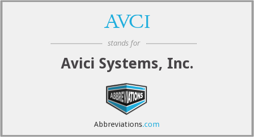 What does AVCI stand for?