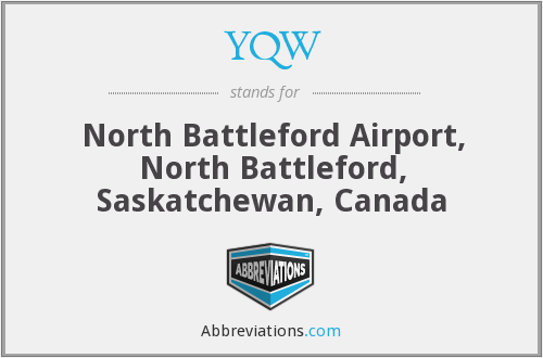 What does YQW stand for?