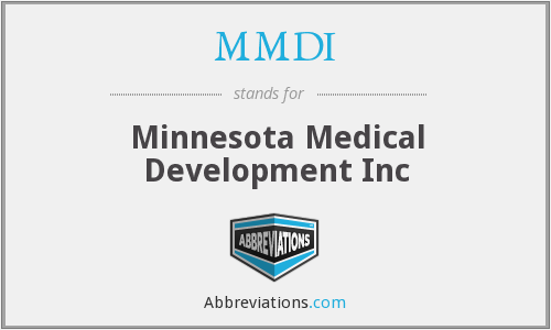 What does MMDI stand for?