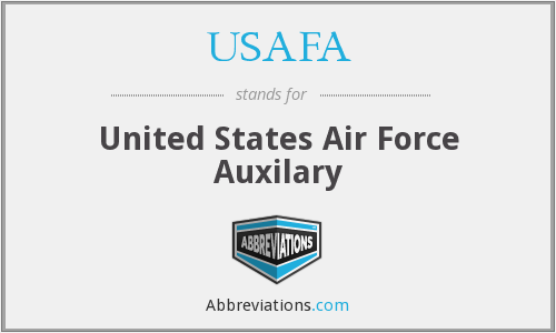 What does USAFA stand for?