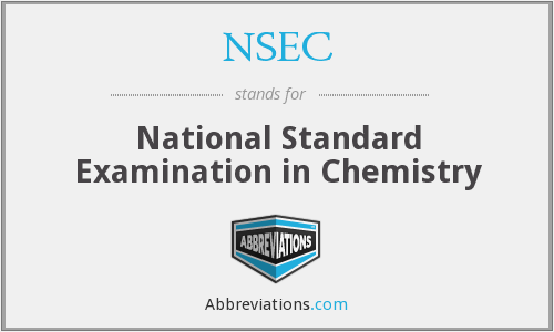 What does NSEC stand for?
