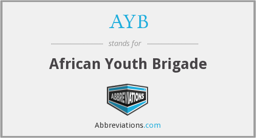 What does AYB stand for?