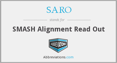 What does SARO stand for?