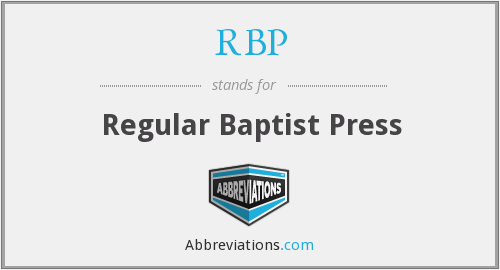What does RBP stand for?