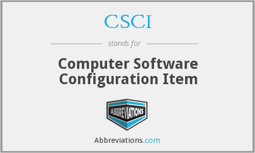 What does CSCI stand for?