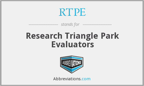 What does RTPE stand for?