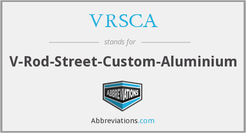 What does VRSCA stand for?