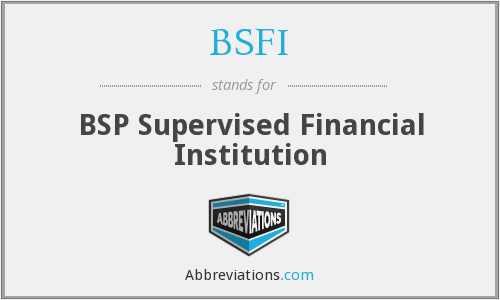 What does BSP stand for?