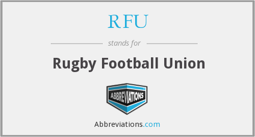 What does RFU stand for?