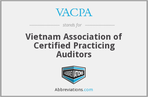 What does VACPA stand for?