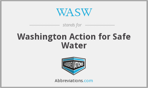 What does WASW stand for?