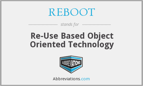 What does REBOOT stand for?