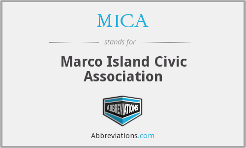 What does MICA stand for?