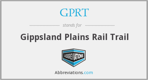 What does GPRT stand for?