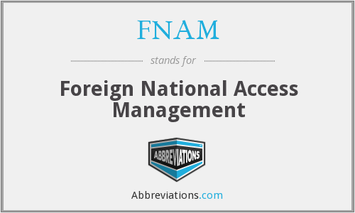 What does FNAM stand for?