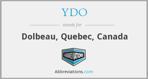 What does YDO stand for?