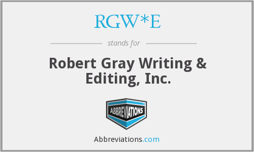 What does RGW*E stand for?