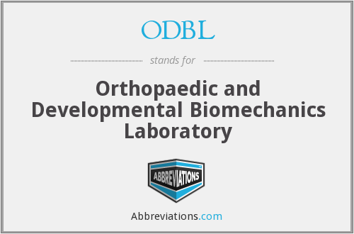 What does ODBL stand for?