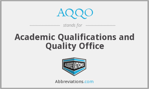 What does AQQO stand for?