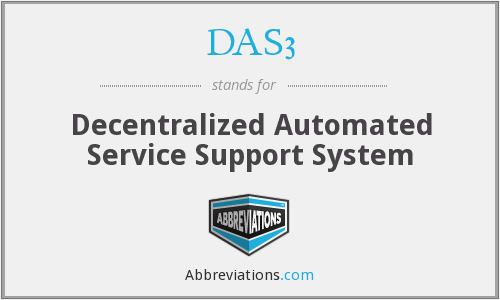 What does DAS3 stand for?