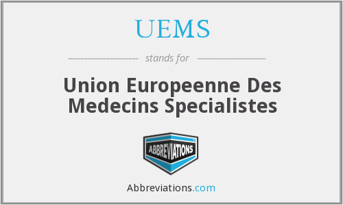 What does UEMS stand for?