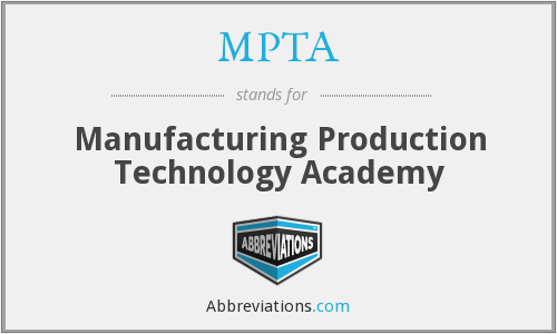What does MPTA stand for?