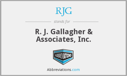What does RJG stand for?