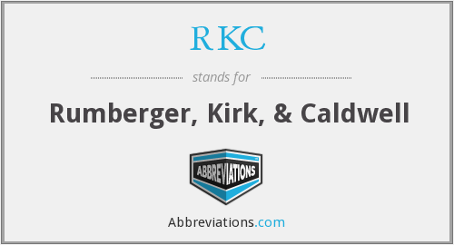 What does RKC stand for?