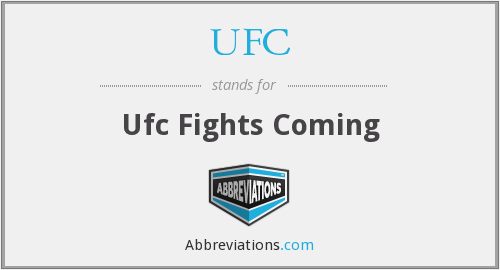 What does UFC stand for?