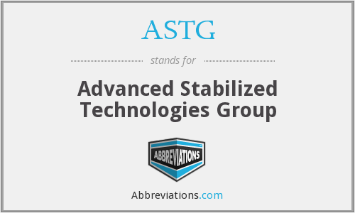 What does ASTG stand for?